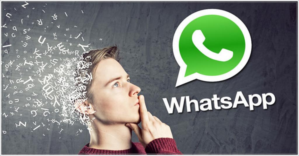 WhatsApp - Homem pensando