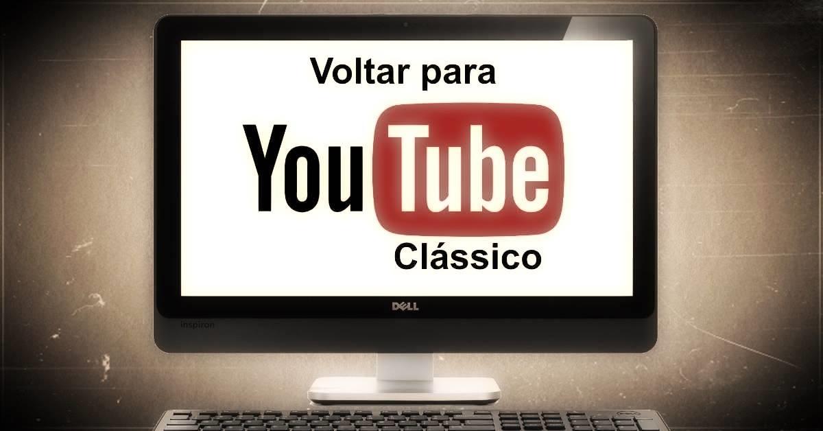 YouTube Material Design repor clássico