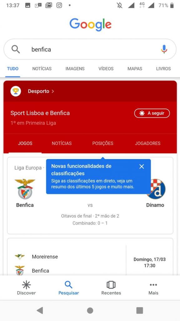 Google - Benfica 001 (Android)