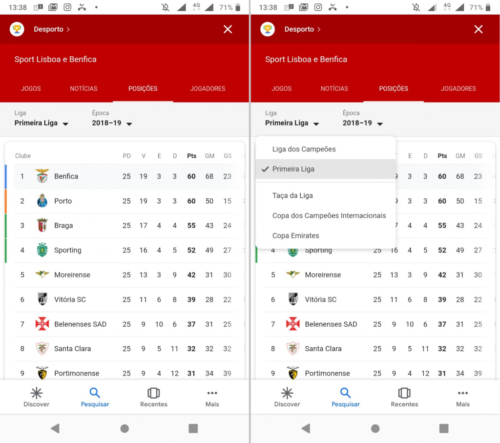 Google - Benfica 002 (Android)