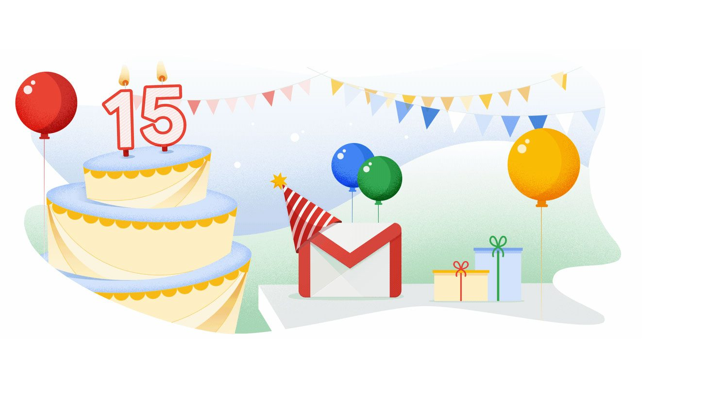 Gmail - 15 anos