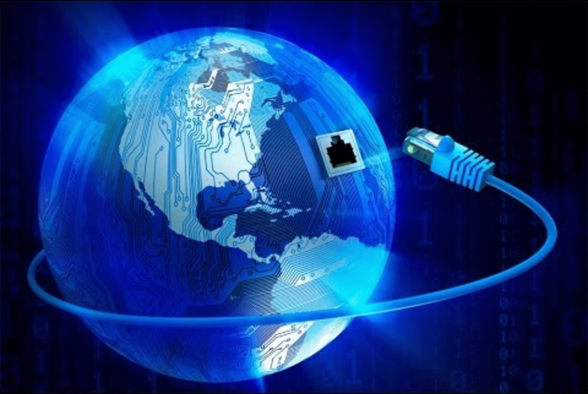 Globo terrestre - Internet