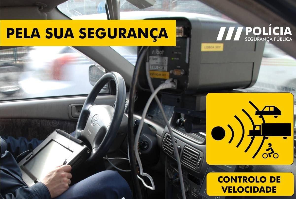 Polícia Segurança Pública (PSP) - Radares