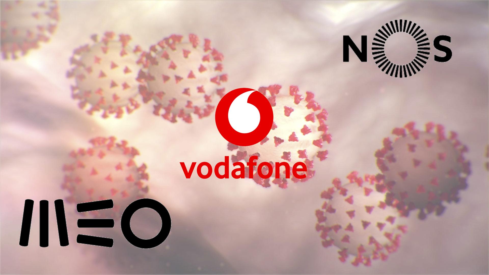 CoronaVírus - MEO, Vodafone e NOS oferecem 10 GB de dados móveis