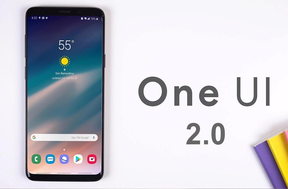 Actualização One UI 2