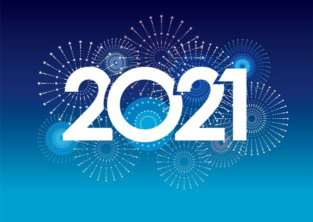 2021 - Ano novo - Ano da esperança